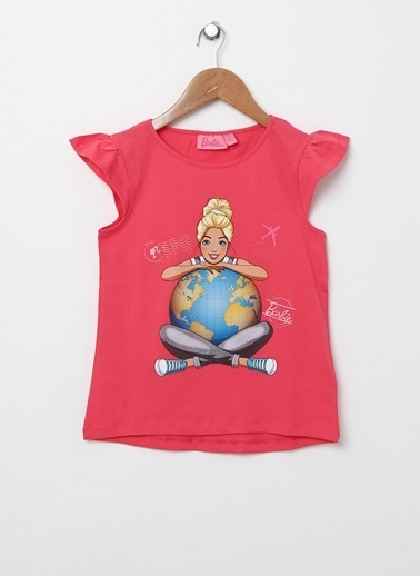 Barbie Tişört Mercan